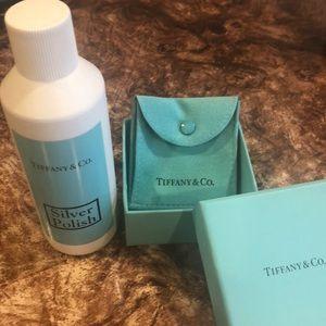 Authentic Tiffany's silver polish & box